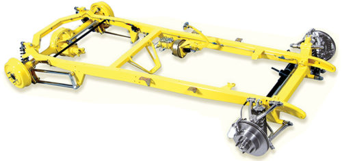 TCI 1928-1931 Ford Chassis With Custom IFS and 4-Link Suspension 101-1215-00