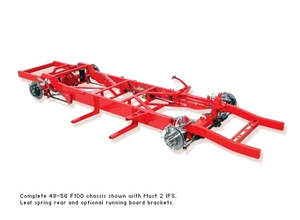 TCI 1955-1959 Chevy Pickup Complete Chassis Custom IFS with Air 133-1285-00