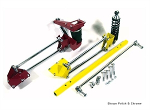 TCI Air Spring Axle Bracket Universal Application 400-4261-00