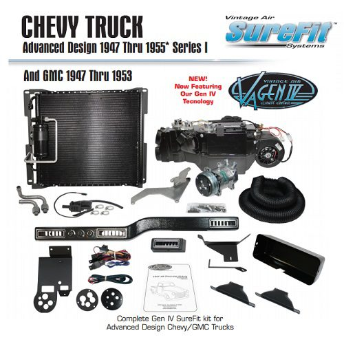 1949 - 1954 Chevy P/U Complete Kit