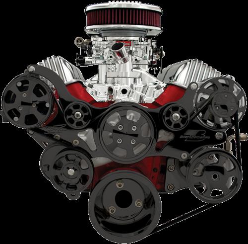 348/409 Chevy Premium Tru Trac Serpentine System