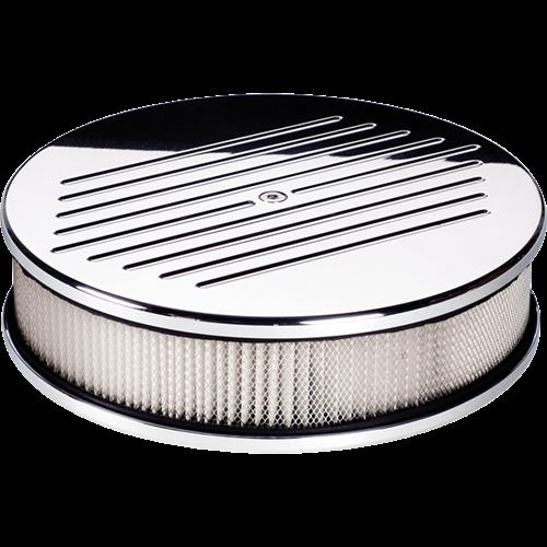 Billet Specialties Round 10-inch Diameter Ball Milled Air Cleaner P15220