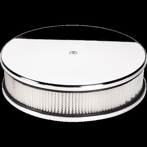 Billet Specialties Round 10-inch Diameter Plain Air Cleaner P15229