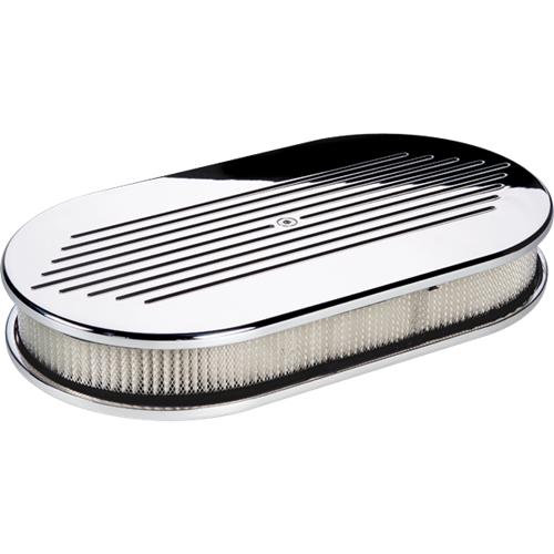 Billet Specialties Large Oval Ball Milled Air Cleaner P15420