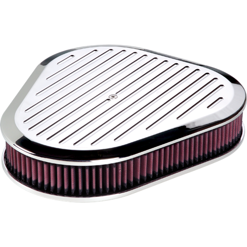 Billet Specialties Triangle Ball Milled Polished Air Cleaner P15720