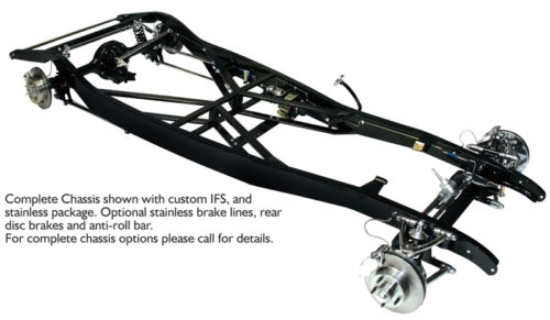 TCI 1933 - 1934 Ford Complete Dropped Axle Chassis 103-1215-00
