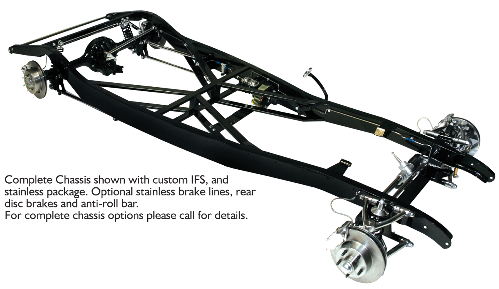 1933 1934 Ford Complete Custom Ifs Chassis Charlotte Rod