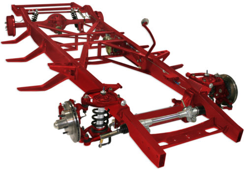 TCI 1947-1953 Chevy Pickup Complete Chassis Custom IFS