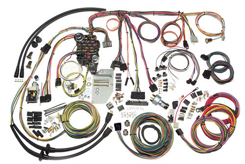 American Autowire 1955-1956 Chevrolet Passenger Classic Update Wiring Kit 500423