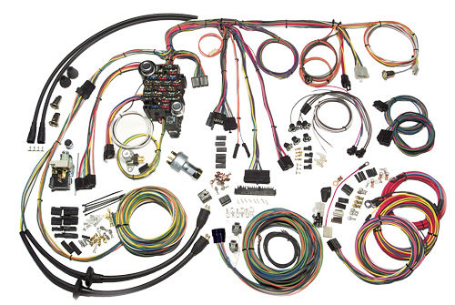 American Autowire 1957 Chevrolet Passenger Classic Update Wiring Kit 500434