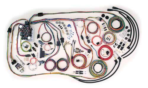American Autowire 1955-1959 Chevrolet Truck Classic Update Wiring Kit 500481