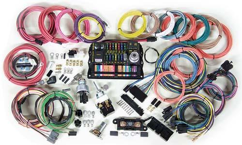 highway 22 wiring kit charlotte rod and custom rh charlotterod com painless wiring harness kits speedway wiring harness kits