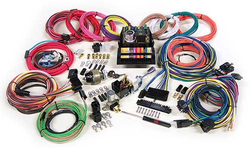 highway 15 custom street rod wiring kit charlotte rod and custom rh charlotterod com classic car wiring harness kits wiring harness kits for car stereos