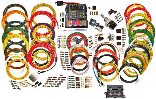 American Autowire Highway 15 Nostalgia Wiring Kit 500944