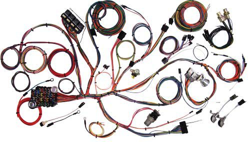 American Autowire 1967-1968 Ford Mustang Classic Update Wiring Kit 510055
