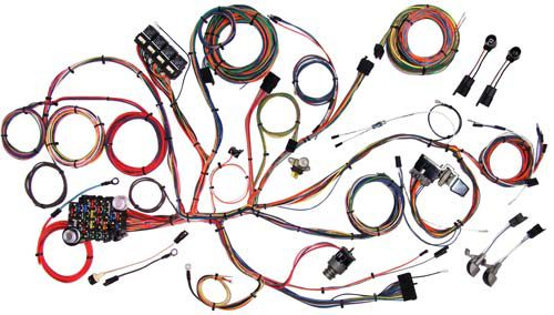 American Autowire 1964-1966 Ford Mustang Classic Update Wiring Kit 510125