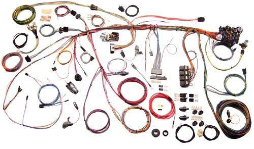 American Autowire 1969 Ford Mustang Classic Update Wiring Kit 510177