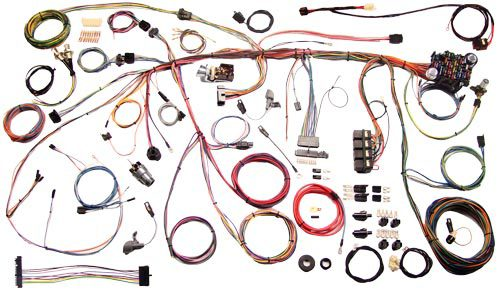 American Autowire 1970 Ford Mustang Classic Update Wiring Kit 510243
