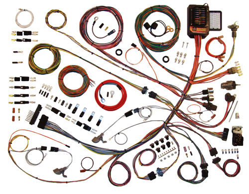 American Autowire 1961-1966 Ford Truck  Classic Update Wiring Kit 510260