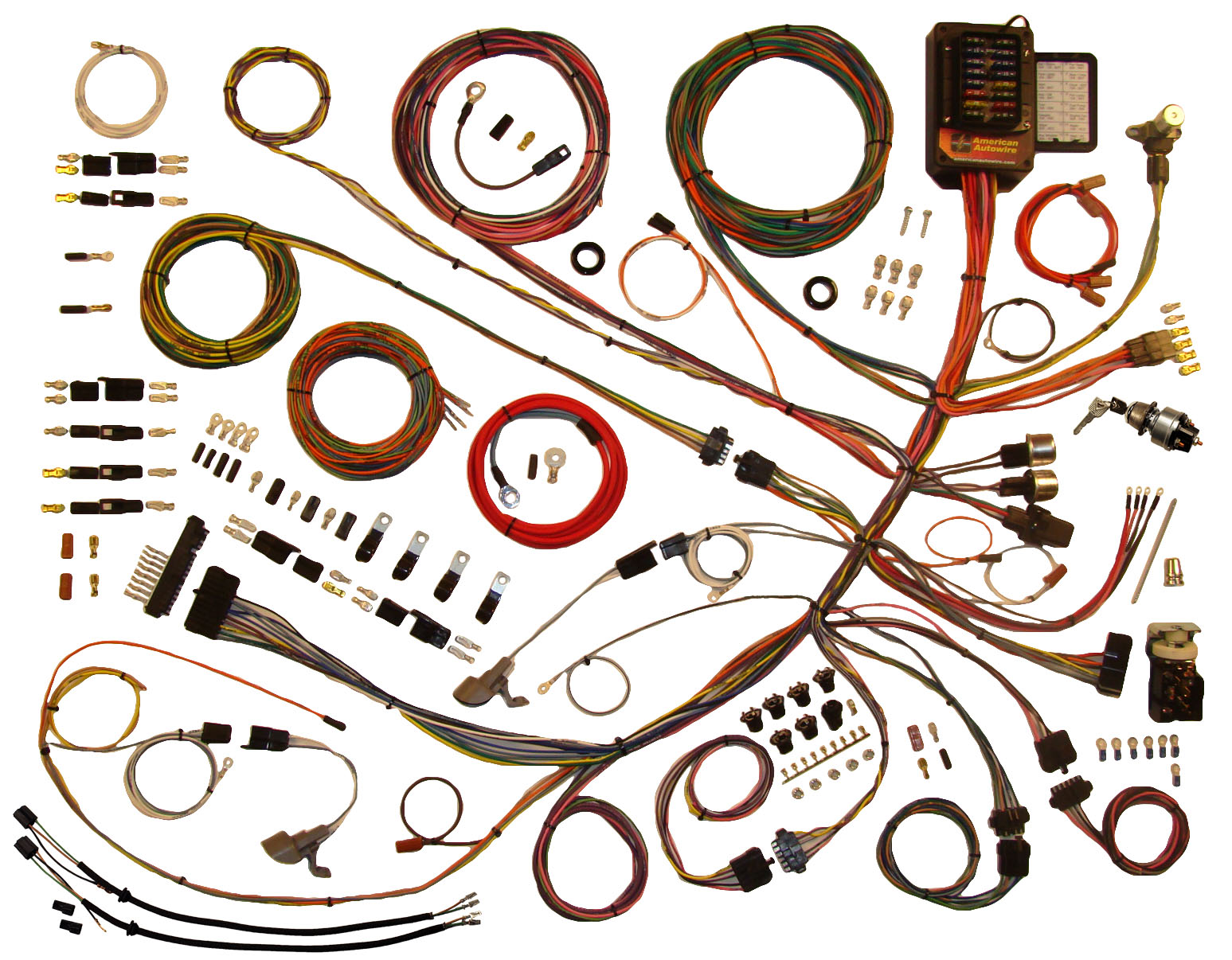 1953 1956 ford truck classic update wiring kit charlotte rod and rh charlotterod com Ford Truck Wiring Harness Engine Wiring Harness 1970 Barracuda