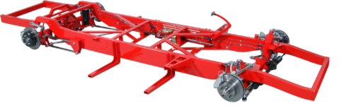 TCI 1955-1959 Chevy Complete Pickup Chassis Mustang II IFS 133-1245-00
