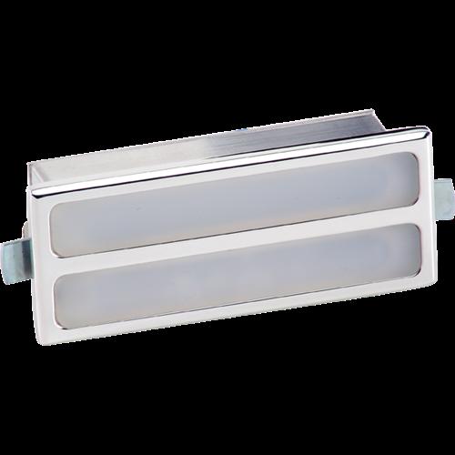 Billet Specialties Interior Door Light - Rectangle (White Lens) 60120