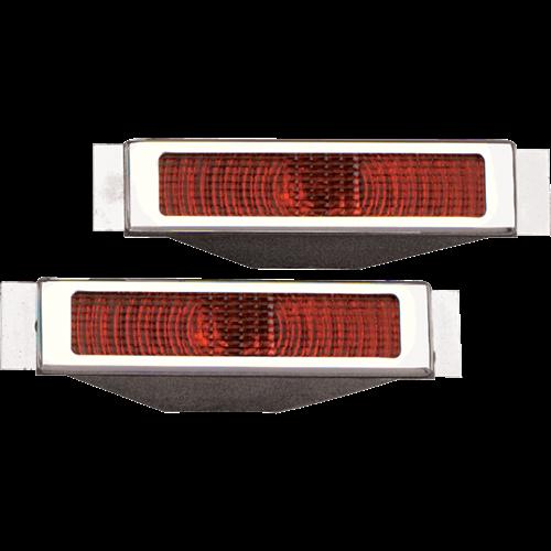 Billet Specialties Open Bezel LED Taillights 61225