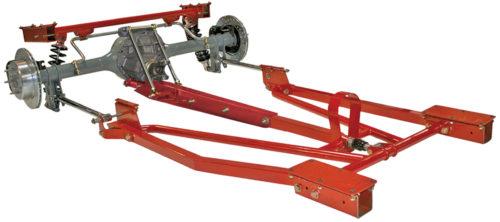 TCI 1967-1968 Cougar Rear Torque Arm Suspension 531-5102-00