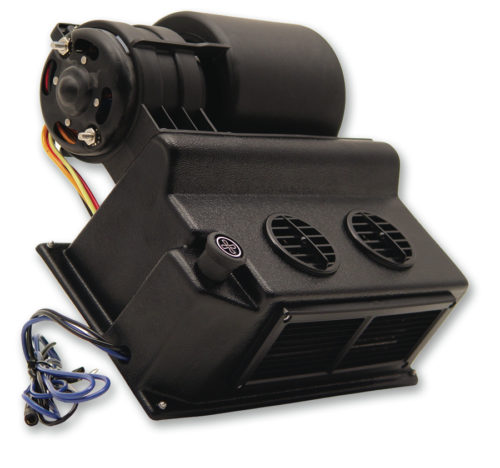 Queen City Components Street Rod Heater with Integral Control 7RH