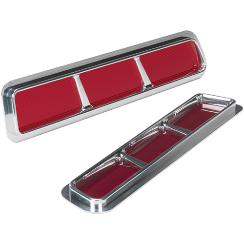 Billet Specialties 1969 Camaro RS Recessed Taillights