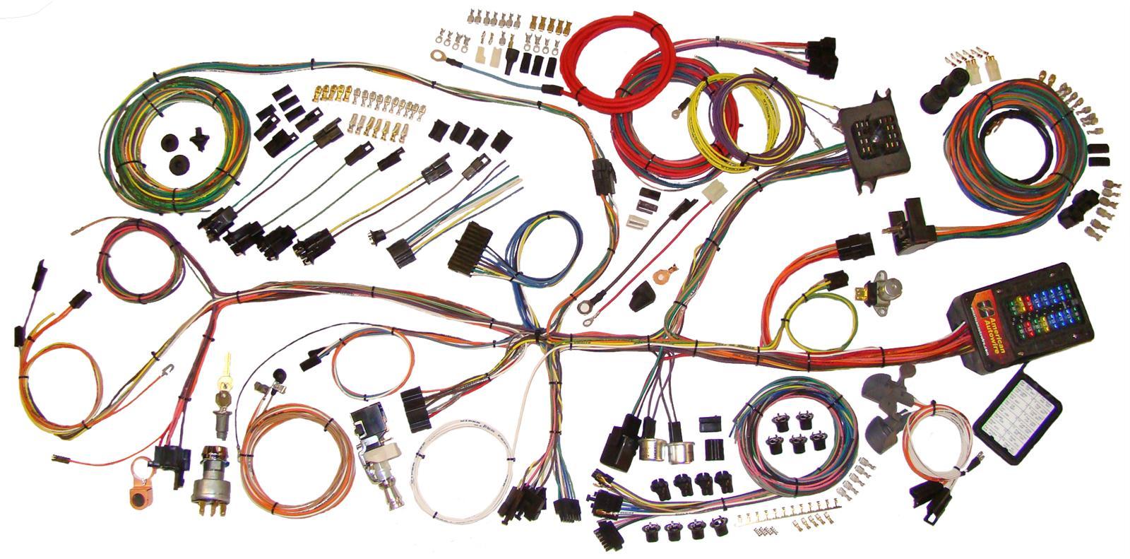 complete wiring kit – 1962-1967 chevrolet nova classic update