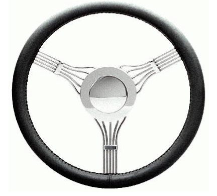 Flaming River Banjo Steering Wheel with Horn Button FR20128BJ