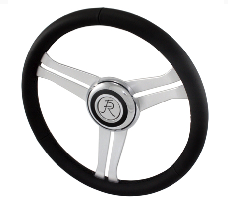 Flaming River Navigator Steering Wheel FR20164BK