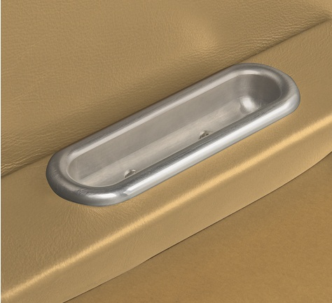 Lokar Billet Aluminum Oval Arm Rest Door Pull (Pair) IDP-2004