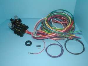 electrical charlotte rod and custom rebel wire 14 circuit wiring harness rw 100014