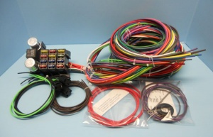16 circuit american muscle car wiring harness charlotte rod and custom rh charlotterod com car audio wiring harness kits classic car wiring harness kits