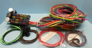 Rebel Wire 21 Circuit American Muscle Car Wiring Harness RW-20021MC