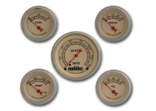 Classic Instruments 5-Gauge Set: Speedo