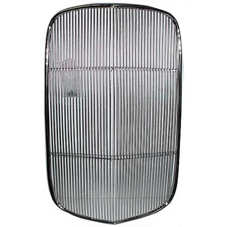 Vintique Inc. Vintique 8200-SR 1932 Ford Grille Insert - Stainless Steel