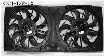 Cooling Components Cooling Components CCI-12: 2200 CFM Electrical Fan and Shroud