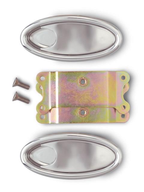 LokarBillet Aluminum Oval Interior Door Handles (Pair) IDH-2000